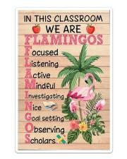 Teacher Flamingo Sticker tile