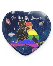 LGBT - You Are My Universe Heart ornament - single (porcelain) thumbnail