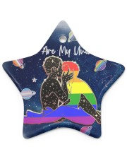 LGBT - You Are My Universe Star ornament - single (porcelain) thumbnail