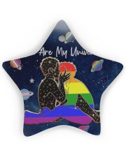 LGBT - You Are My Universe Star ornament - single (wood) thumbnail