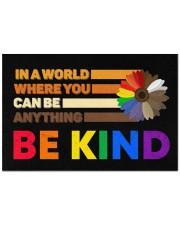 """LGBT - Be Kind Doormat Doormat 22.5"""" x 15""""  front"""