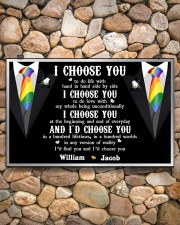 Personalized Lgbt - I Choose You 17x11 Poster aos-poster-landscape-17x11-lifestyle-15