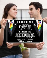 Personalized Lgbt - I Choose You 17x11 Poster poster-landscape-17x11-lifestyle-20