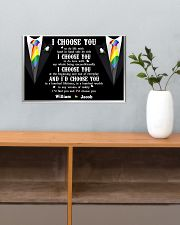 Personalized Lgbt - I Choose You 17x11 Poster poster-landscape-17x11-lifestyle-24