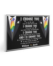 Personalized Lgbt - I Choose You 30x20 Gallery Wrapped Canvas Prints thumbnail
