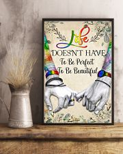 LGBT To Be Perfect Poster 11x17 Poster lifestyle-poster-3