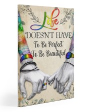 LGBT To Be Perfect Poster 20x30 Gallery Wrapped Canvas Prints thumbnail