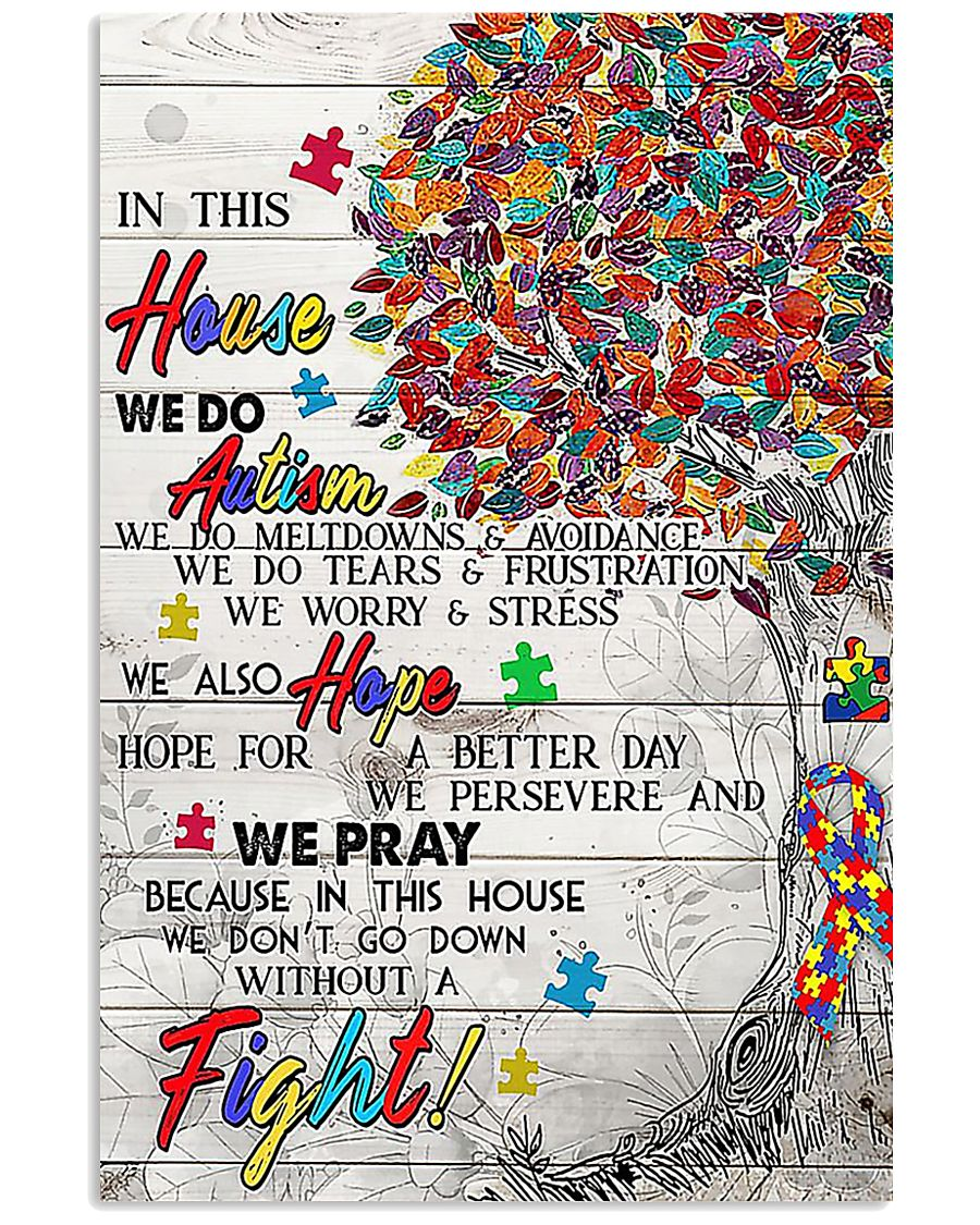 Autism In This House  11x17 Poster