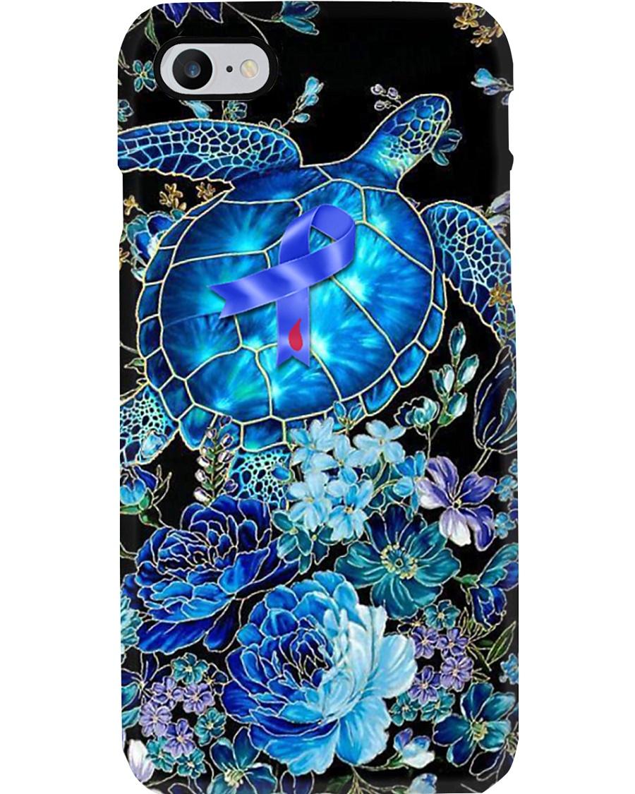 Diabetes Turtle Floral Phone Case  Phone Case