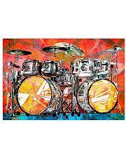 Poster - Drummer - Drumset Art  17x11 Poster front