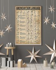 American Sign Language 11x17 Poster lifestyle-holiday-poster-1