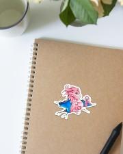 Breast Cancer Dragon Sticker - Single (Vertical) aos-sticker-single-vertical-lifestyle-front-16