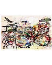 Poster - Drummer - Unique Drums Art  17x11 Poster front