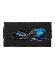 Eagle Police Blue Crack Cloth face mask thumbnail