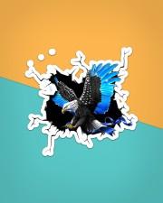 Eagle Police Blue Crack Sticker - Single (Vertical) aos-sticker-single-vertical-lifestyle-front-02