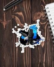 Eagle Police Blue Crack Sticker - Single (Vertical) aos-sticker-single-vertical-lifestyle-front-05