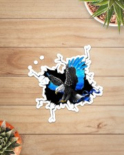 Eagle Police Blue Crack Sticker - Single (Vertical) aos-sticker-single-vertical-lifestyle-front-07