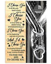 Prison Officer - I Choose You Poster 11x17 Poster front