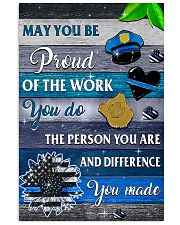 Proud Of The Work 11x17 Poster front