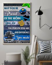 Proud Of The Work 11x17 Poster lifestyle-poster-1