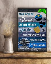 Proud Of The Work 11x17 Poster lifestyle-poster-3
