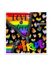 LGBT Love Is Love Sticker tile