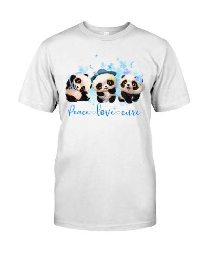 Diabetes Panda - Peace Love Cure