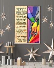 LGBT - I Love You Poster 11x17 Poster lifestyle-holiday-poster-1