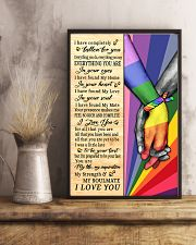 LGBT - I Love You Poster 11x17 Poster lifestyle-poster-3