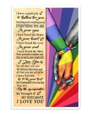 LGBT - I Love You Poster Sticker - Single (Vertical) thumbnail
