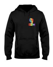 Pride LGBT Flag 2 Sides  Hooded Sweatshirt tile
