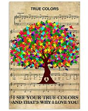 Autism Tree 11x17 Poster front