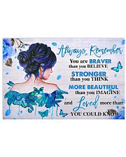 Diabetes Always Remember Poster 17x11 Poster front
