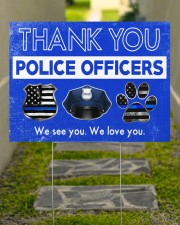 Police - Police Officers 24x18 Yard Sign aos-yard-sign-24x18-lifestyle-front-07