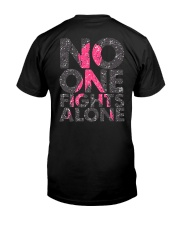 BC-Fight For A Cure 2 Sides Classic T-Shirt back