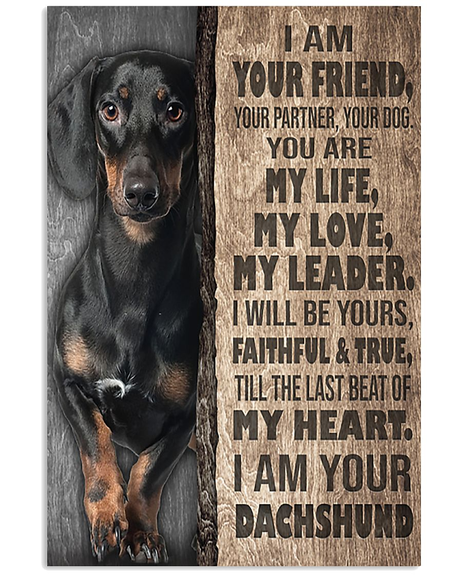 Dachshund - I'm Your Friend 11x17 Poster