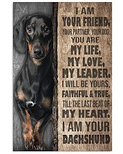 Dachshund - I'm Your Friend 11x17 Poster front