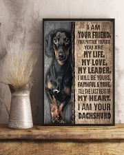 Dachshund - I'm Your Friend 11x17 Poster lifestyle-poster-3