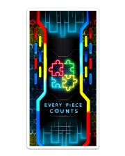 Autism - Hitech Every Count Phonecase Sticker - Single (Vertical) thumbnail