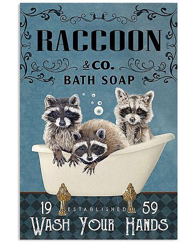 Bath Soap Company Raccoon