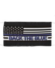 Police - Back The Blue Mask tile