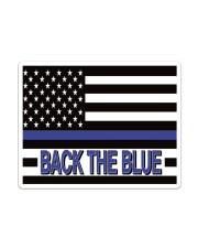 Police - Back The Blue Sticker tile