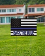 Police - Back The Blue 18x12 Yard Sign aos-yard-sign-18x12-lifestyle-front-03