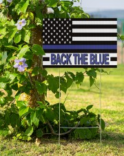 Police - Back The Blue 18x12 Yard Sign aos-yard-sign-18x12-lifestyle-front-14