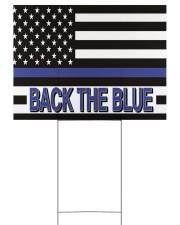 Police - Back The Blue Yard Signs tile