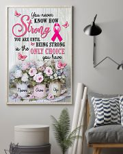 Breast - Cancer - How Strong You Are 11x17 Poster lifestyle-poster-1