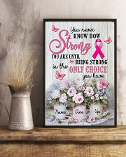 Breast - Cancer - How Strong You Are 11x17 Poster lifestyle-poster-3