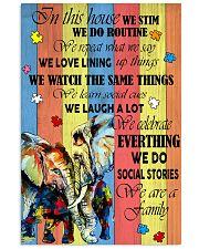 Autism Elephant 11x17 Poster front