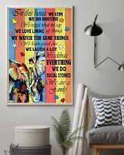 Autism Elephant 11x17 Poster lifestyle-poster-1