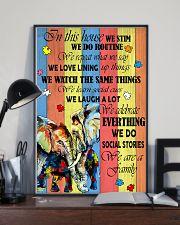 Autism Elephant 11x17 Poster lifestyle-poster-2